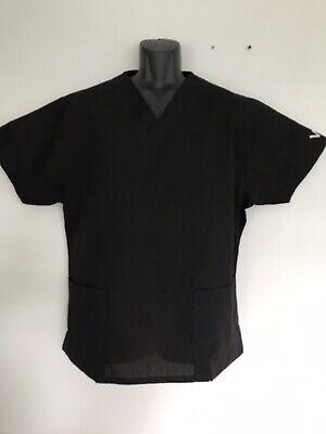 Vestex Man Women Unisex Medical Scrub Top In Black XL