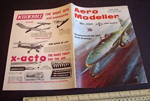 Vintage Aeromodeller Magazine (July 1969) Engine Test ED Super Racer