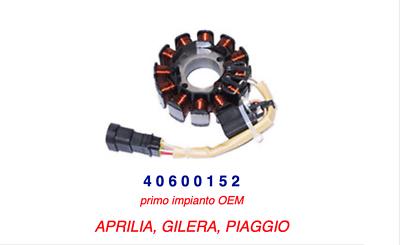 Cordiale 40600152 Statore Piaggio Nrg 50 Power Purejet 04-11 / Nrg 50 Purejet 02-04