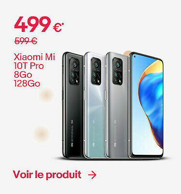 Xiaomi Mi 10T Pro 8Go 128Go - 499 €*
