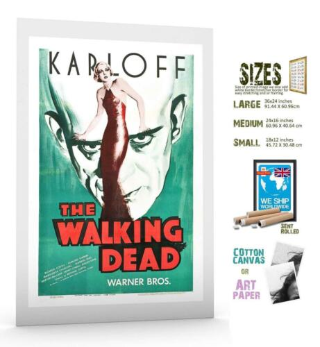 FILM CLASSIC Horror Walking Dead Karloff MOVIE POSTER