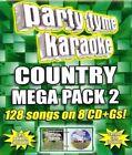 Party Tyme Karaoke Country Mega Pack 2 Audio CD