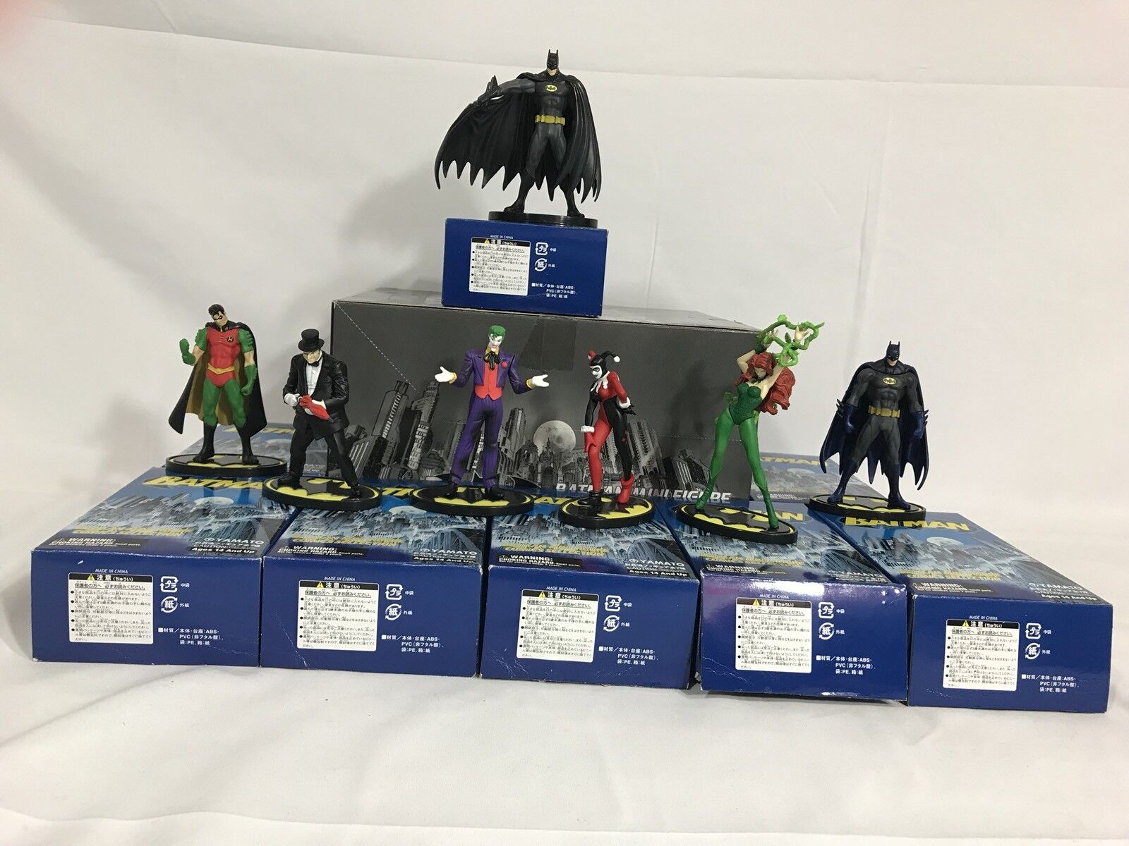 Complete Batman Mini Figure Comics Selection by Yamato