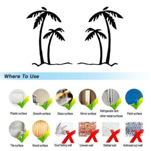 Tropical Plant Palm Tree Car Window Bumper Van Laptop Door Vinyl Decal Sticker