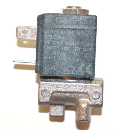5x DeLonghi Magnetventil ventil Solenoidventil 2 weg 5213210171 Metall NEUWARE