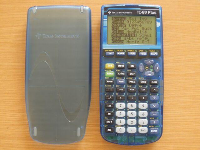 Calculatrice Texas Instruments Ti-83 PLUS