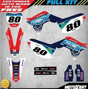 Honda CRF 250-2018 Full Custom Graphic Kit DIGGER Style sticker kit