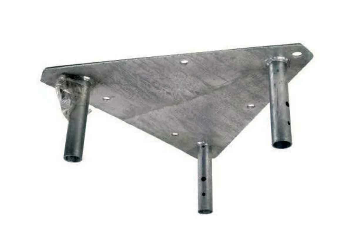 Genuine ROHN APL55G Top Plate for Beacon or Lightning Rod - NEW - Rohn 55G Tower. Buy it now for 300.00