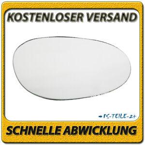 Aussenspiegel-Spiegelglas-fuer-SMART-FORTWO-1998-2007-rechts-Beifahrerseite-konvex