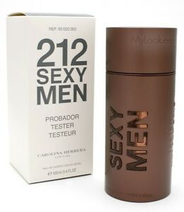 30264160c2 212 SEXY MEN BY CAROLINA HERRERA-EDT-SPRAY-3.4 OZ-100 ML-AUTHENTIC ...