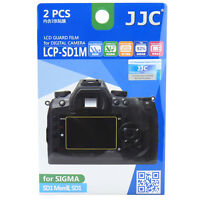 Jjc Lcp-sd1m Lcd Film Camera Screen Display Protector For Sigma Sd1 Merrill _us