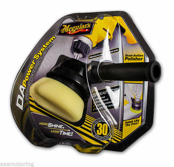 Meguiars G3500 DA Powersystem Detailing Tool Dual Action Polisher For your Drill