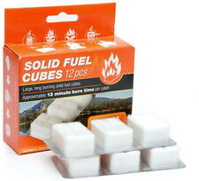 Esbit 1300-degree Smokeless Solid Fuel Tablets for Backpacking Camping Emergen