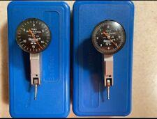 Brown Amp Sharpe Bestest Dial Indicator Lot Of 2