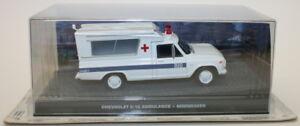 Fabbri-1-43-escala-Diecast-Modelo-Chevrolet-C-10-Ambulancia-Moonraker