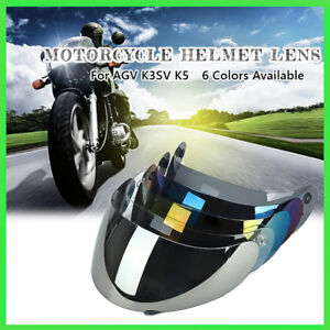 75bd5681 Full Face Motorcycle Helmet For AGV K3/K4 AGV Lens Visor Shield UV ...