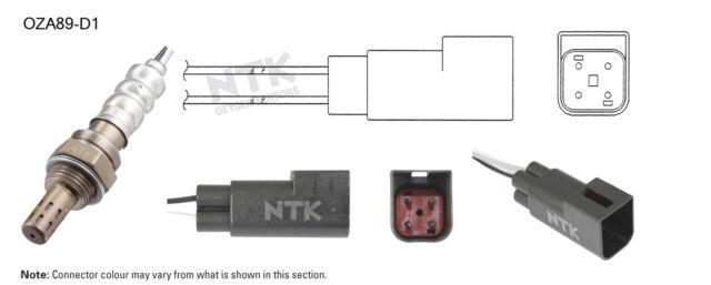 NGK NTK Oxygen Lambda Sensor OZA89-D1