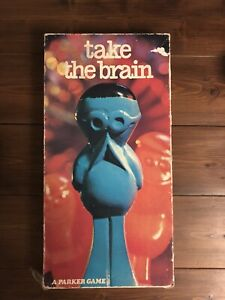 Take-The-Brain-Game-Parker-Games-1970-VINTAGE-Good-Condition
