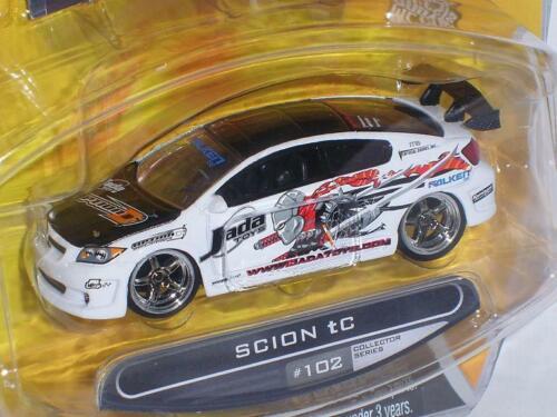 Toyota Scion Tc Weiss White Tuning Neu 1//60 1//64 Jada Modellauto Modell Auto