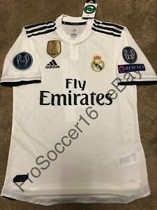 f48062900bf 2018 19 Real Madrid CF Home Kit - Player version - Champions League ...