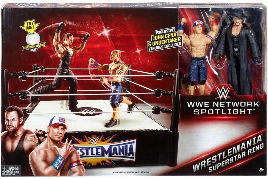 Network Spotlight WrestleMania Superstar Ring