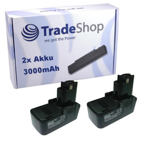 2x Batterie 7,2v 3000mah pour Bosch gsr ve psr 7.2 7.2vpe2 7.2ves2 gdr50 gdr70