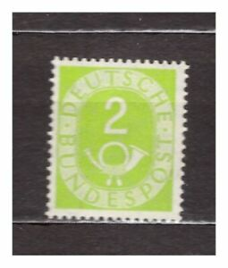 S31528) Germany 1951 MNH Definitives 2pf