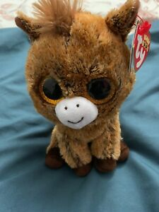 HARRIET THE HORSE TY BEANIE BOOS  BRAND NEW