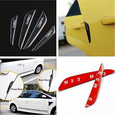 Car Door Edge Anti-rub Guards Trim Molding Protection Strip Scratch Protector 4x
