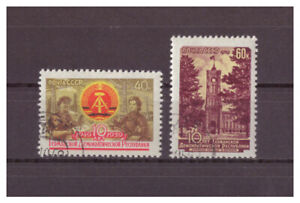 Sowjetunion-10-Jahre-DDR-MiNr-2271-2272-1959-used
