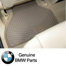 NEW BMW E53 X5 2003-2006 Rear Beige All Weather Floor Mats Genuine