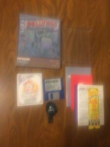 Ballyhoo-GAME-Infocom-1986-ATARI-ST-3-5-034-RARE-BIG-BOX-PROMO-MANUAL-RARE-Game
