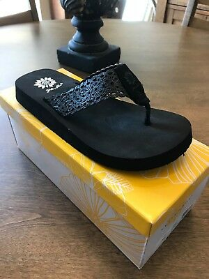 Women/'s Shoes Yellow Box Agneese Toe Thong 39888 RAINBOW MULTI *New*
