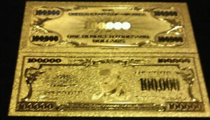 "/<MINT GEM CONDITION/>1899 /""GOLD/"" BISON Banknote W// COA~ US SELLER~FAST S/&H"