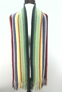 The-Scarf-Company-100-Lambswool-Multi-Color-Bohemian-Boho-Rainbow-Scotland