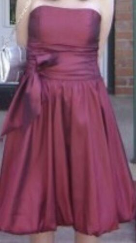 Alexia Designs Bridesmaid Dress Burgundy