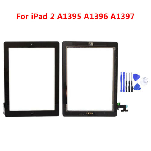 Home Button Original For Apple ipad 2 Digitizer Touch Screen Glass Replacement