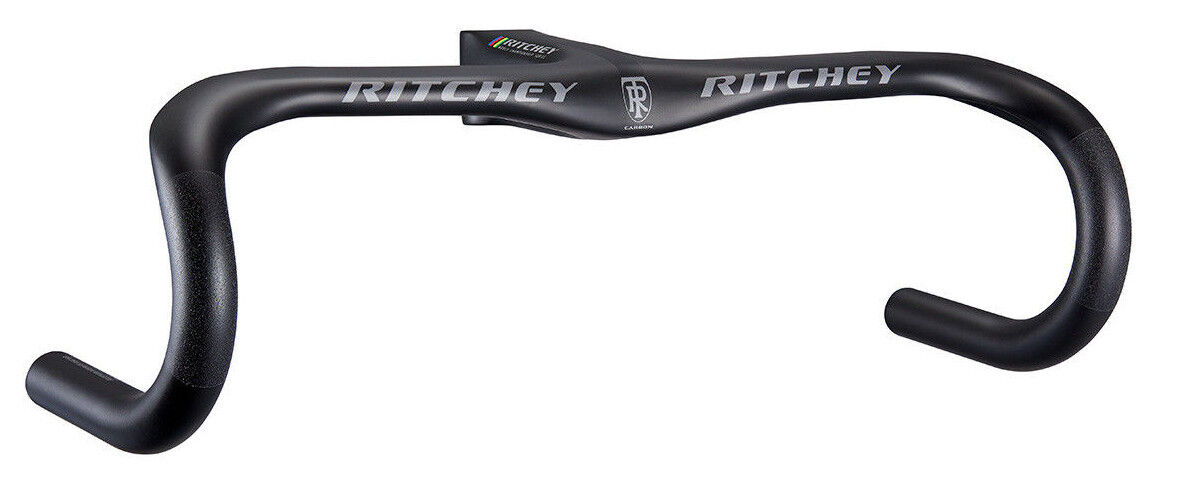 Ritchey WCS Carbon Solostreem Integrated Road Bike Handlebar 44cm  x 100mm Stem  gorgeous