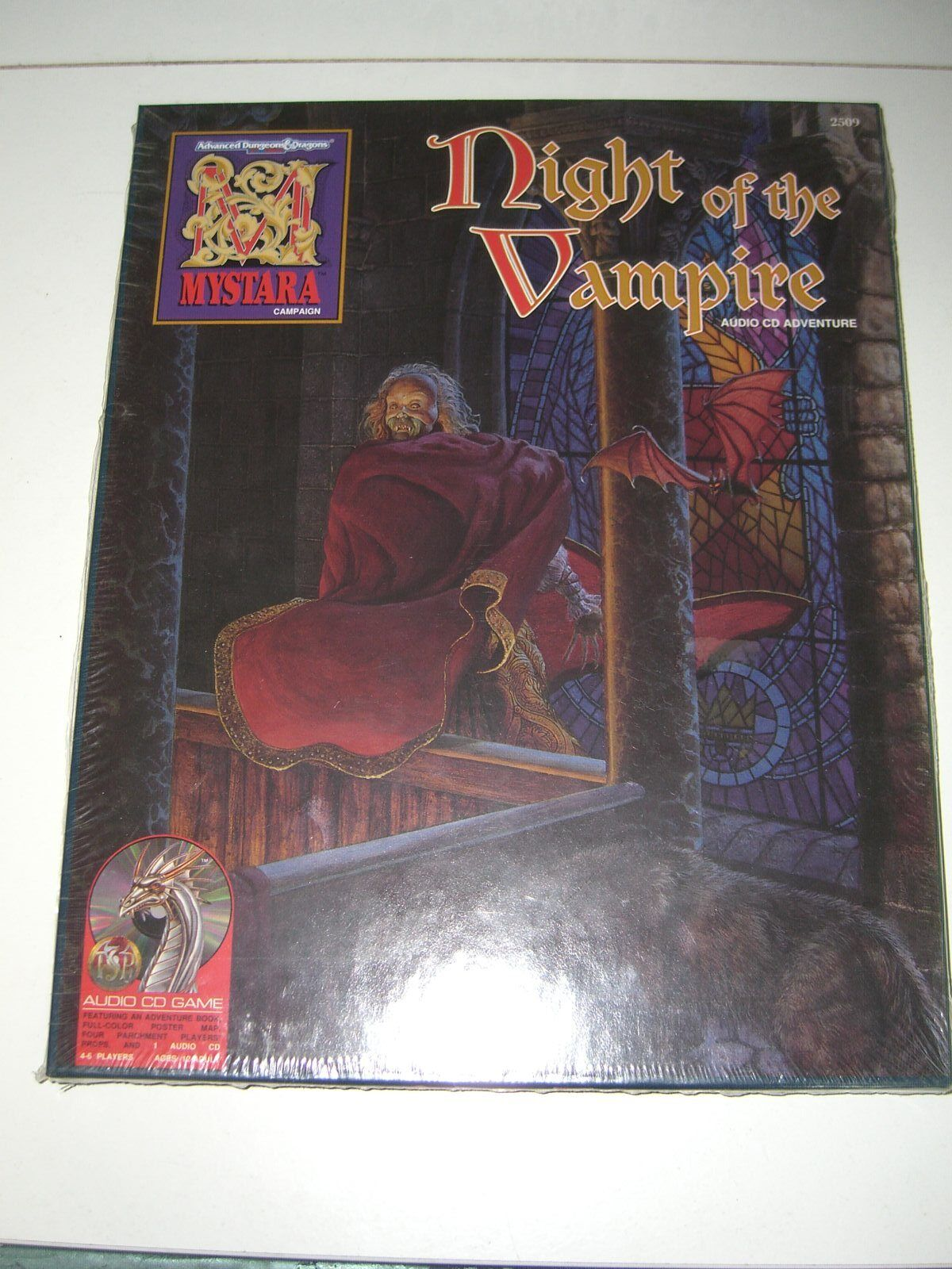 servicio de primera clase MYEstrellaA NIGHT OF THE VAMPIRE AUDIO ADVENTURE Box SET SET SET D&D AD&D TSR 2509 SEALED  calidad fantástica