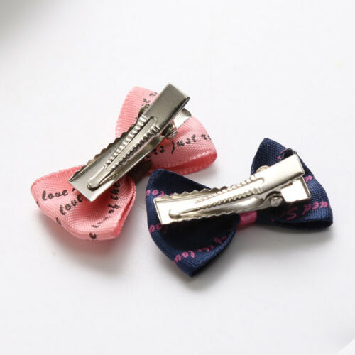 JQ/_ 20Pcs Baby Kids Girls Hair Clip Flower Dot Bowknot Hair Clips Set Hairpin