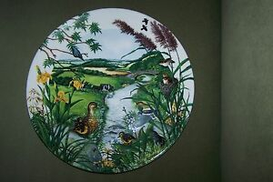 1987 The Meandering Stream COLIN NEWMAN plate 5661 H country panorama series - Deutschland - 1987 The Meandering Stream COLIN NEWMAN plate 5661 H country panorama series - Deutschland