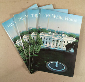 THE WHITE HOUSE AN HISTORICAL GUIDE 1962 Visitor's Souvenir Book Jackie Kennedy