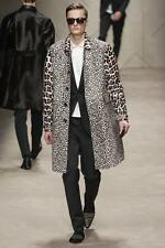 Burberry Prorsum Calf hair Leather Caban Jacket Small RRP £5500 Coat Pony Skin