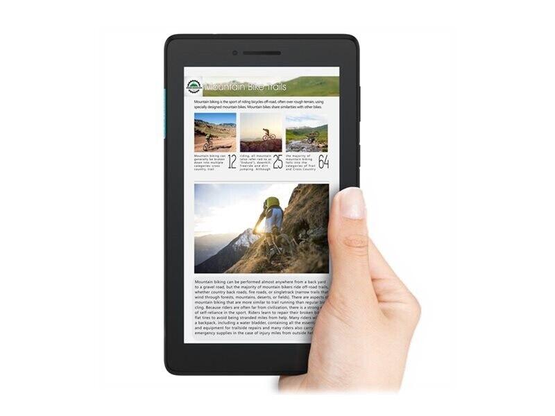 "Lenovo Tab E7 ZA41 7"" 8GB Sort Android 8.0 3G"
