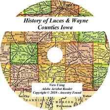 1913 History of Lucas and Wayne County  Iowa Genealogy