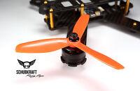 5x4.5x3 SCHUBKRAFT Racing Props Naze32 FPV Propeller 5045 HQ F3 Kiss G18 ORANGE