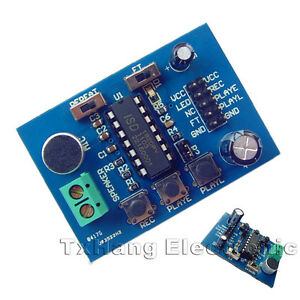 ISD1820-Voice-Board-enregistrement-sonore-Enregistreur-lecture-Module-On-Board-Microphone