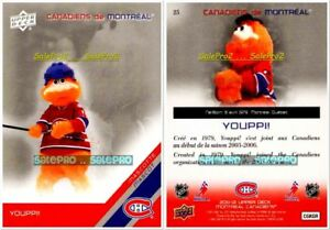 UPPER-DECK-2011-YOUPPI-CREATED-1979-NHL-MONTREAL-CANADIENS-MASCOTTE-MINT-25