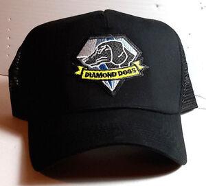 Metal Gear Diamond Dogs Logo Baseball/Trucker Style Cap/Hat w Patch-