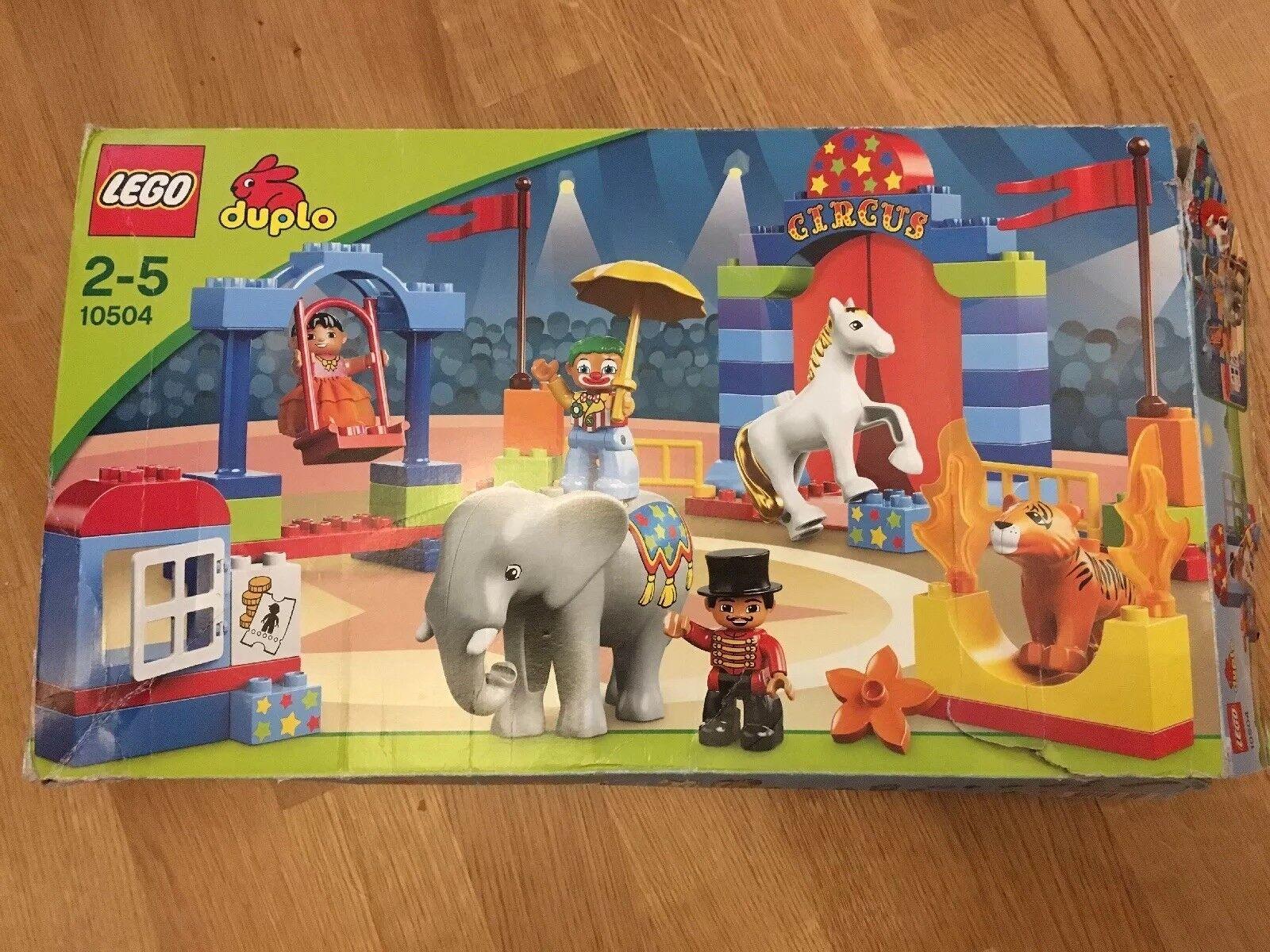 TOP  LEGO Duplo Großer Zirkus (10504) OVP